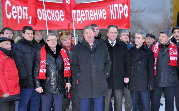 «Праздничный конвой»: Коммунисты отправили сорок седьмой гуманитарный груз в Новороссию