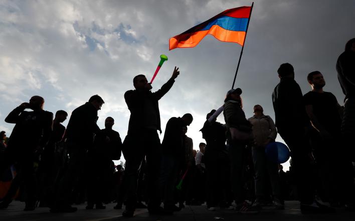 Ереван: Дело за печеньками и снайперами
