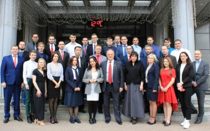 Г.А. Зюганов встретился со слушателями учебного центра ЦК КПРФ, осуществляющими работу в соцсетях