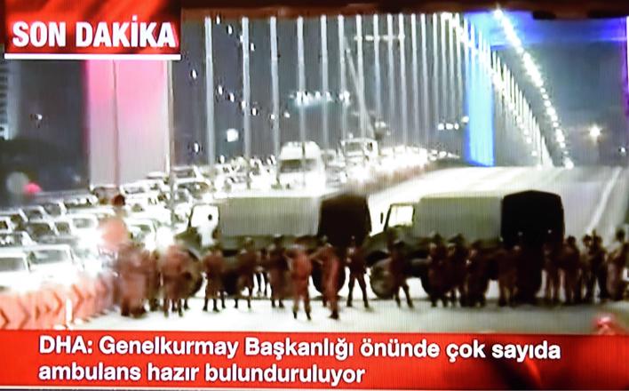 Турецкие военные предприняли попытку захвата власти в стране