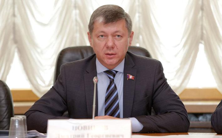Д.Г. Новиков: «Надеюсь, что в новом году у России будет больше побед и меньше поражений»