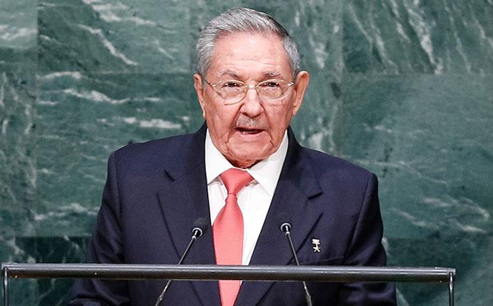 Съезд Компартии Кубы заслушал доклад Рауля Кастро. Решением ЦК партии Рауль Кастро вновь избран его первым секретарем