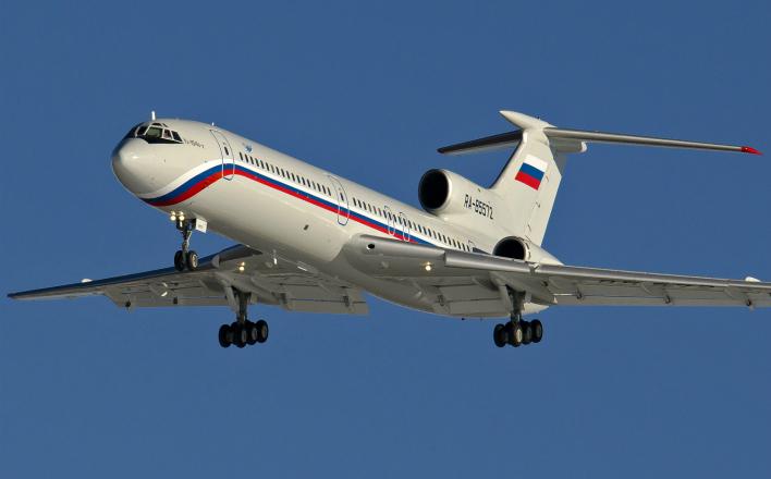 Эксперты отмечают ряд странностей в поведении Ту-154