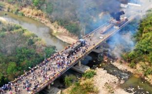 Провокация на мосту Боливар провалилась