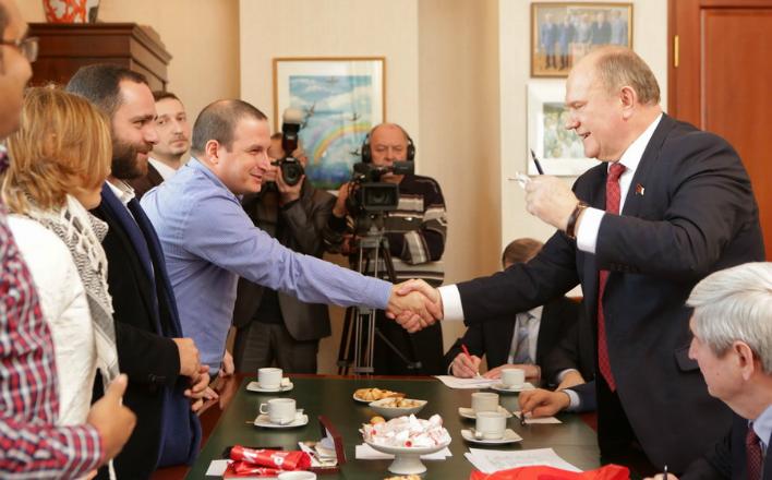 Г.А. Зюганов: «Если молодежь не возвысит свой голос за мир, то всем будет плохо»