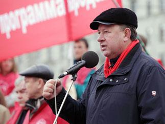 В.И. Кашин на митинге в поддержку законопроекта КПРФ «О детях войны»
