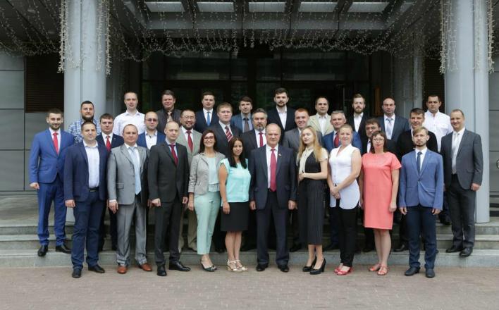 В Центре политической учебы ЦК КПРФ прошла встреча обучающихся с лидером ЦК КПРФ Г.А. Зюгановым