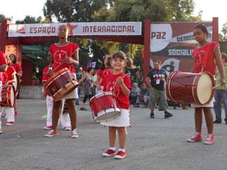 37-й фестиваль газеты «Аванте!» открылся в Португалии