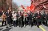 Возложение цветов и венков к Мавзолею на Красной площади (22.04.15)