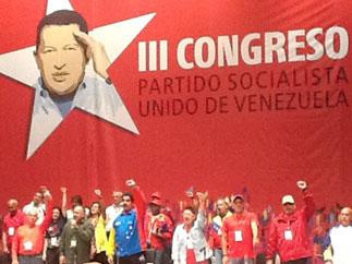 Д.Г. Новиков: «3 Cъезд Социалистической Единой партии Венесуэлы единодушно избрал председателем партии Николаса Мадуро»
