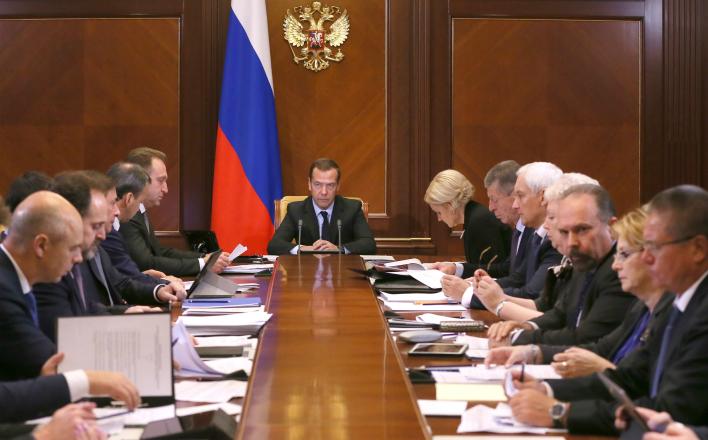 Россияне стали меньше доверять правительству