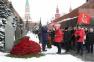 Возложение цветов и венков к могиле И.В.Сталина (05.03.18)
