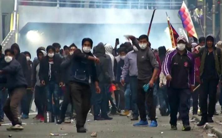 Хаос в Боливии