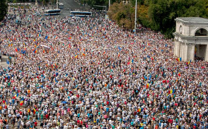 Кишинёв: очередной «майдан» на марше?