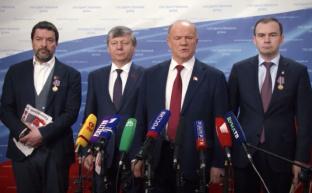 Г.А. Зюганов: «За новый курс и достойную жизнь всех граждан в нашей державе!»
