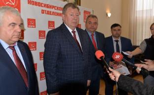 Коммунисты рассказали новосибирским журналистам о работе партии в избирательной кампании-2021