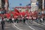 Демонстрация КПРФ в День Победы в Москве