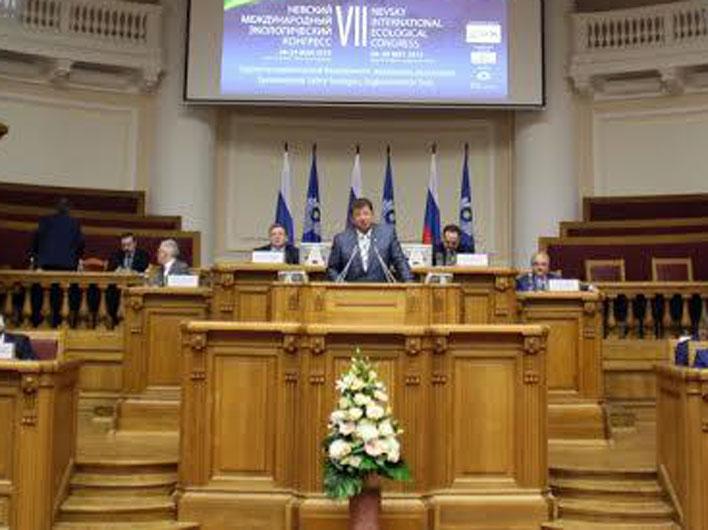 Состоялась поездка В.И. Кашина в Санкт-Петербург
