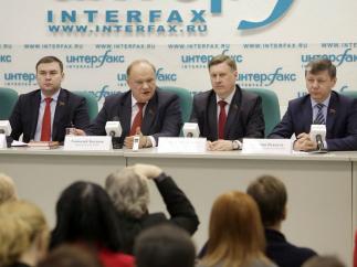 Смена курса – рецепт против санкций. Пресс-конференция Г.А. Зюганова в ИА «Интерфакс»