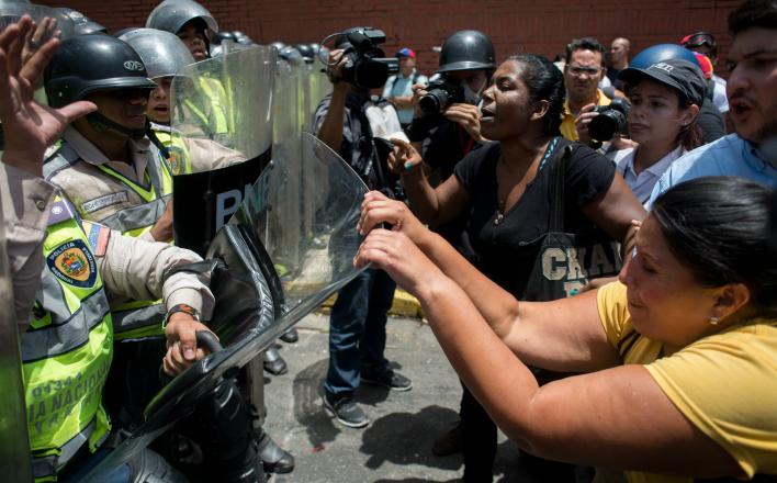 Вновь обостряется обстановка в Венесуэле