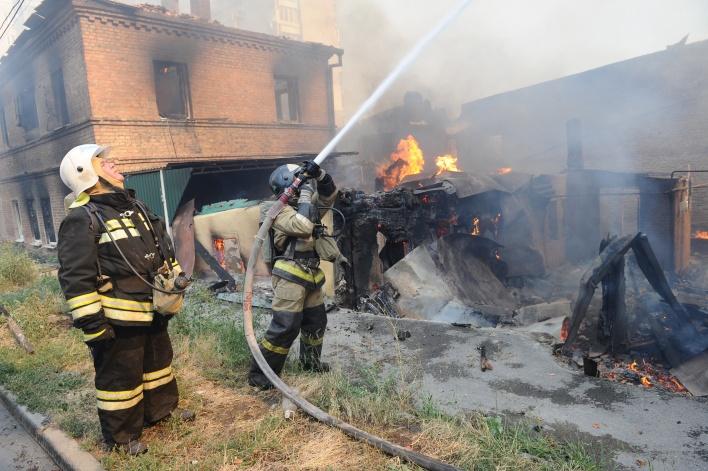 Кто стоит за пожарами в Ростове?