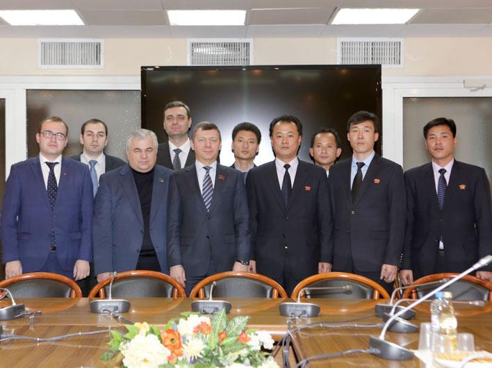 Д.Г. Новиков встретился с делегацией Кимирсеновского Социалистического Союза Молодежи