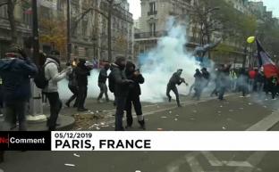 Нет пенсионной реформе! Французы протестуют против увеличения пенсионного возраста