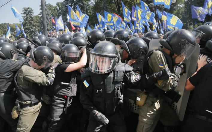Кровавое представление в Киеве