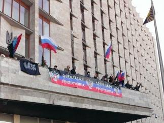 Митинги на Юго-Востоке Украины перерастают в народное восстание