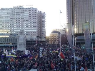 В беспорядках в столице Испании пострадали более 85 человек