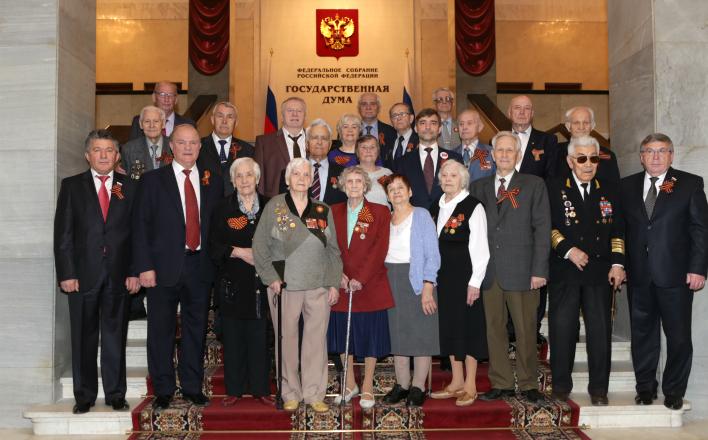 «Спасибо за подвиг и Победу!». Г.А. Зюганов поздравил ветеранов Великой Отечественной войны