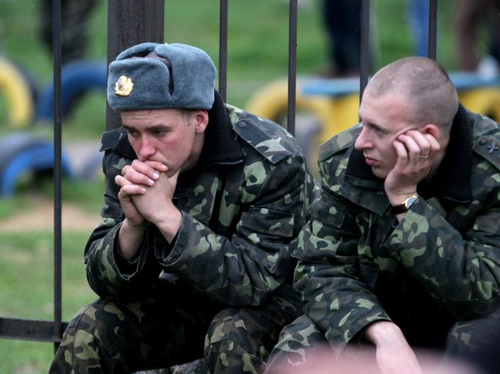 Как растащили армию Украины