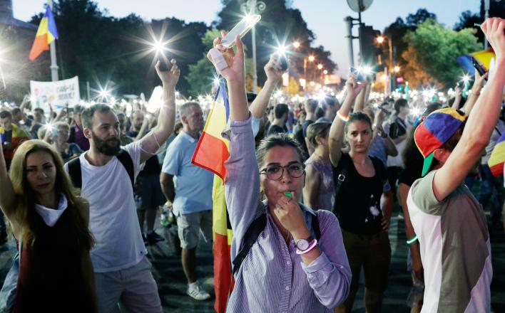 Что происходит в Румынии?