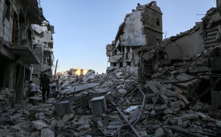 Сирийцы наступают, а иракцы бегут