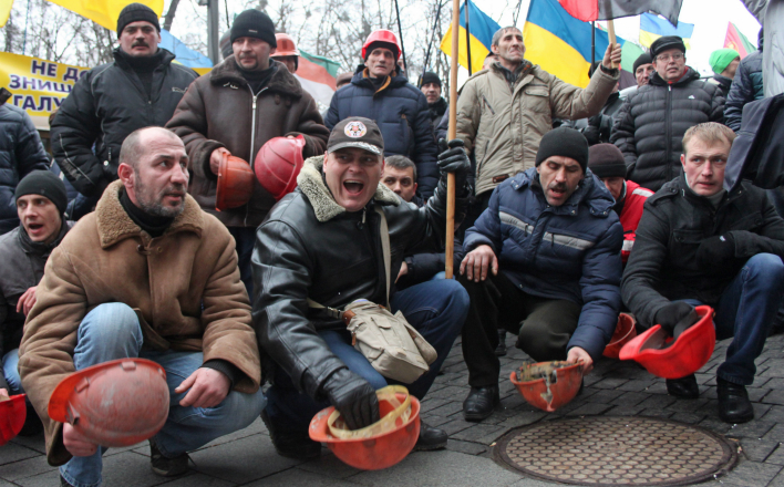 Шахтёры на Львовщине забастовали