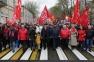 Шествие и митинг в честь 72-й годовщины Великой Победы (09.05.17)