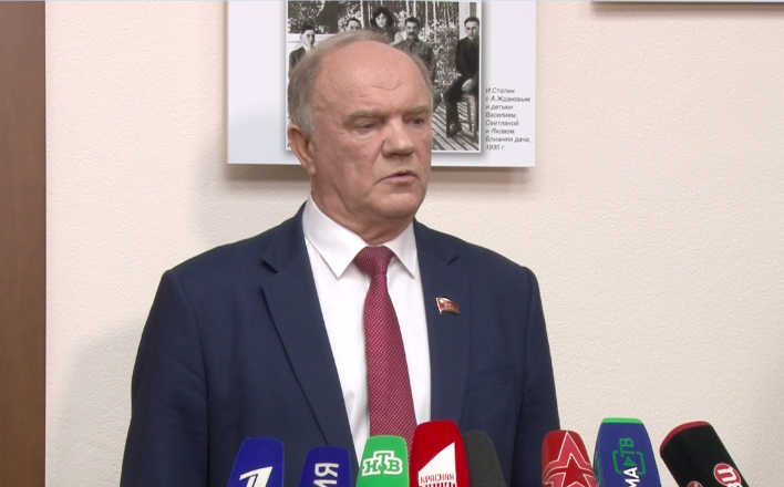 """Г.А.Зюганов: """"Или власть решится поменять курс в пользу избирателей, или мы и дальше будем гнить"""""""