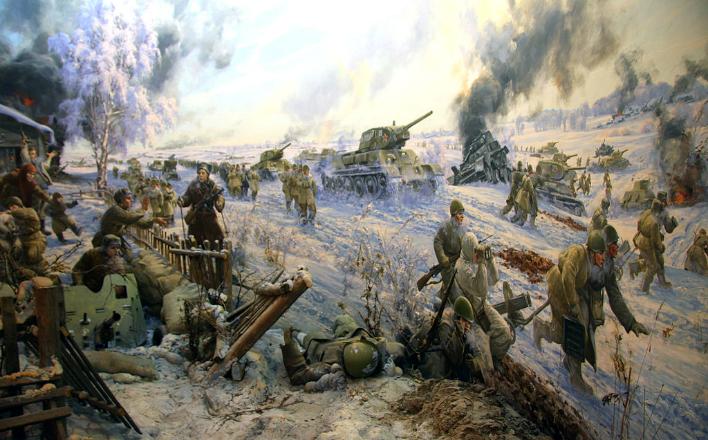 Битва за Москву. Начало контрнаступления советских войск
