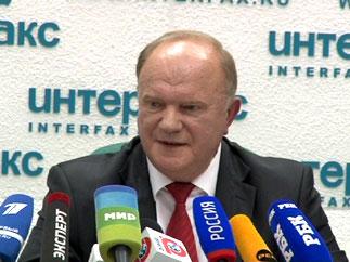 Тезисы Г.А.Зюганова в новом политическом сезоне