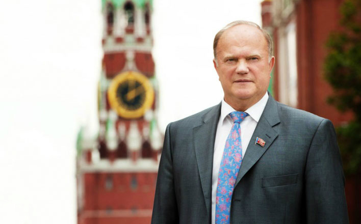 Г.А.Зюганов принял участие в телевикторине «Знание – сила»