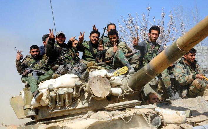 Сирийцы начали воевать с американцами