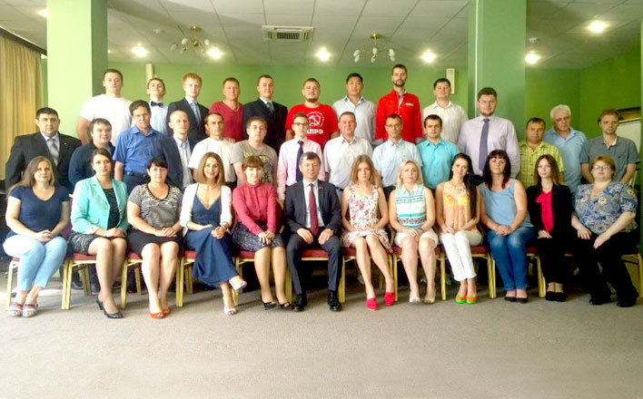 Д.Г. Новиков провел занятия в Центре политической учёбы