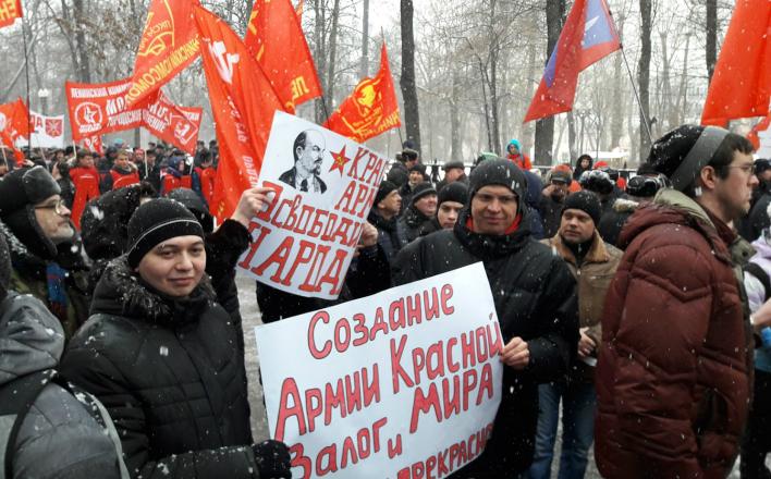 За наших героев - советских солдат!