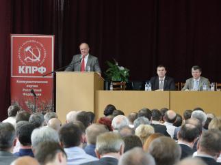 Г.А. Зюганов: «Главная задача нашей партии – восстановление порушенного Отечества»