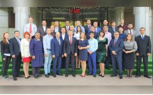 Дмитрий Новиков открыл обучение 34 потока слушателей в Центре Политической учебы ЦК КПРФ