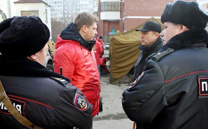 Лидера свердловских коммунистов Александра Ивачева и двух депутатов от КПРФ задержала полиция