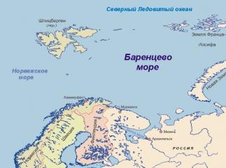 Россия отступает в Баренцевом море