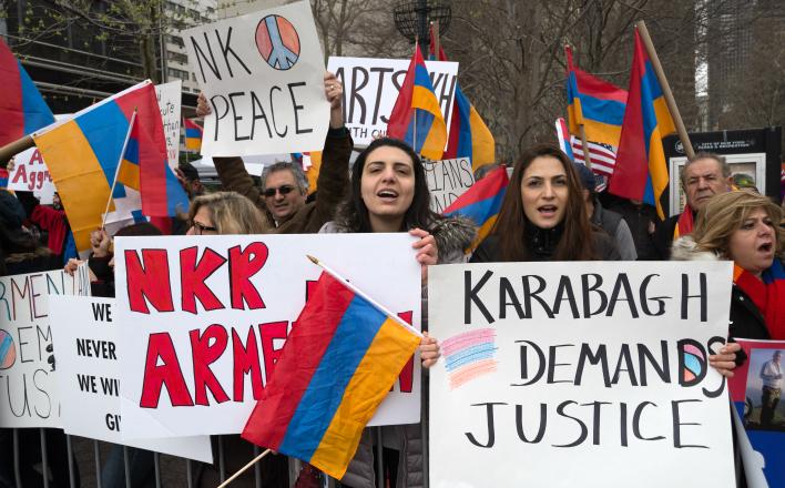 За Карабахским кризисом стоят США и Турция