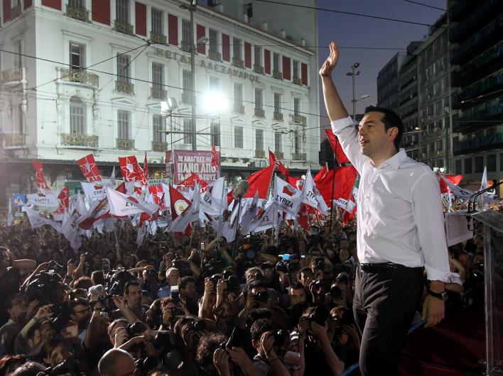 """Германия согласна на выход Греции из ЕС, если на выборах победят """"левые"""""""