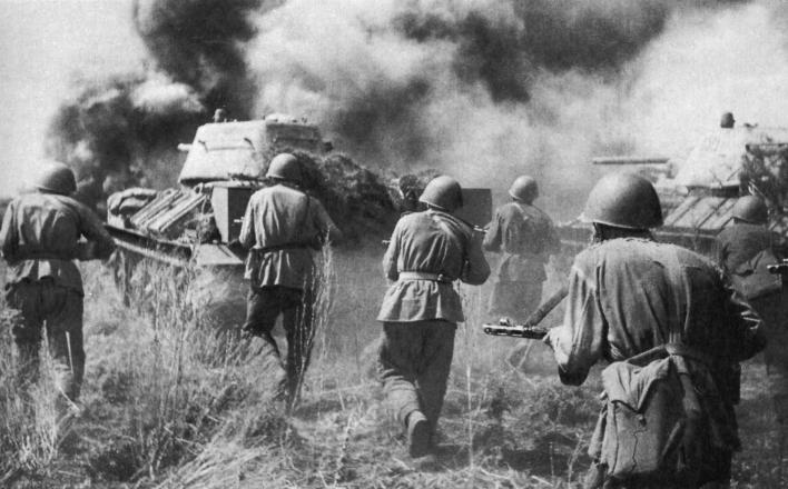 75 лет назад Красная Армия победила в Курской битве